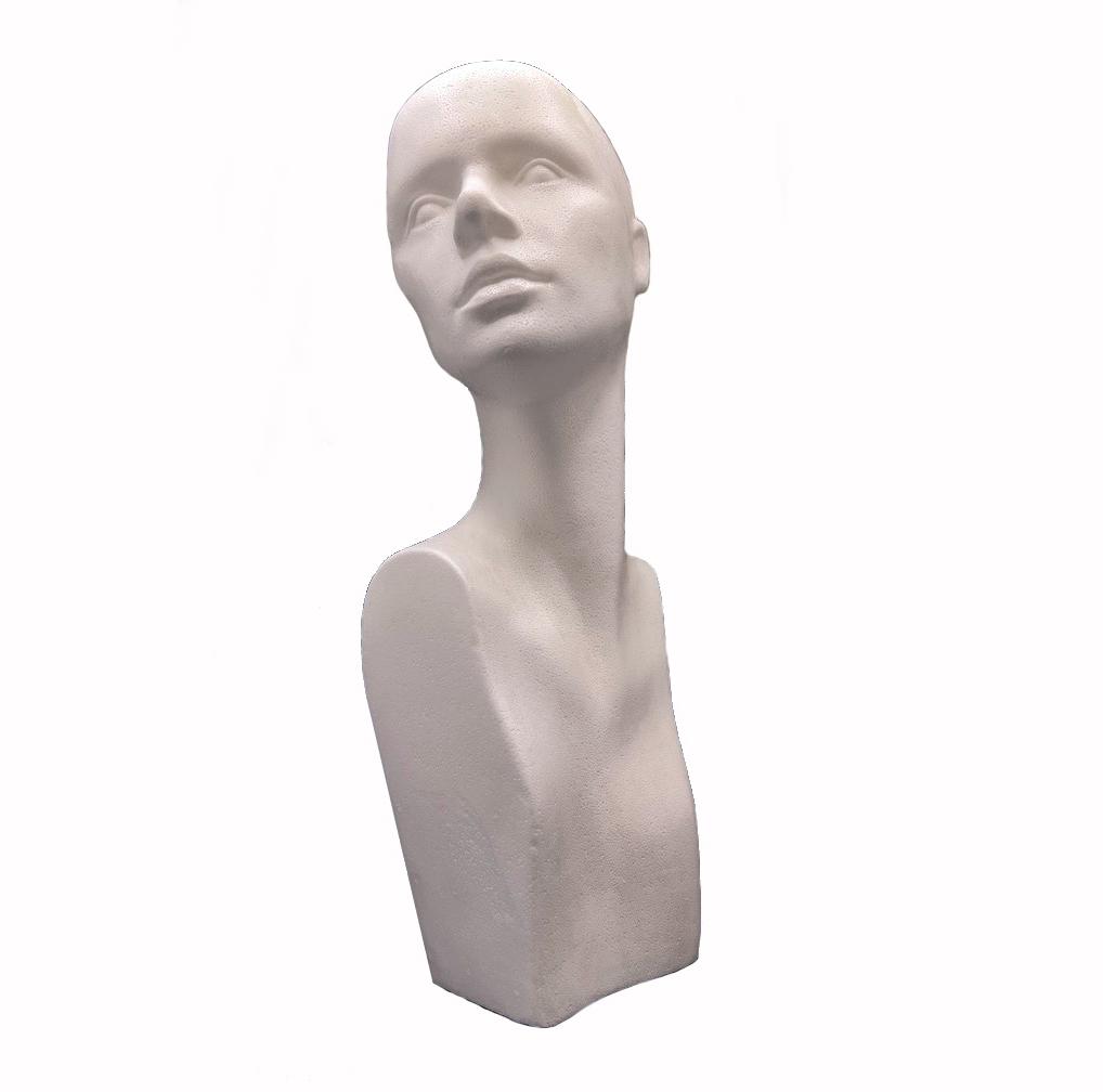 Tête en polystyrène Ira